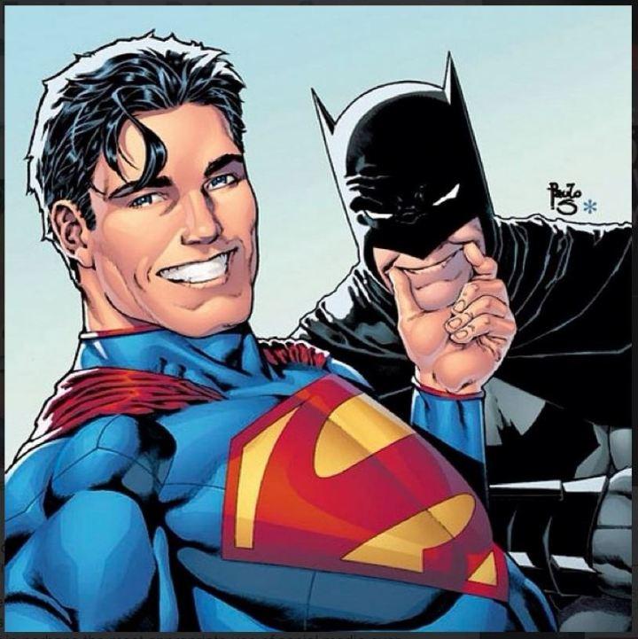 newsarama_com_Batman and Superman take a selfie for a variant cover